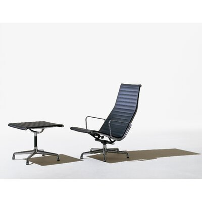 Eames Aluminum Group Chair and Ottoman
