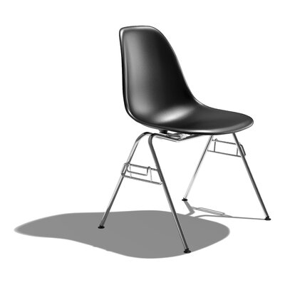 Herman Miller ® Eames DSS - Molded Plastic Side Chair with 4 Leg Base