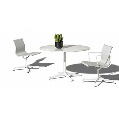 "Herman Miller ® Eames 3 Piece Bistro Set with 48"" Table"