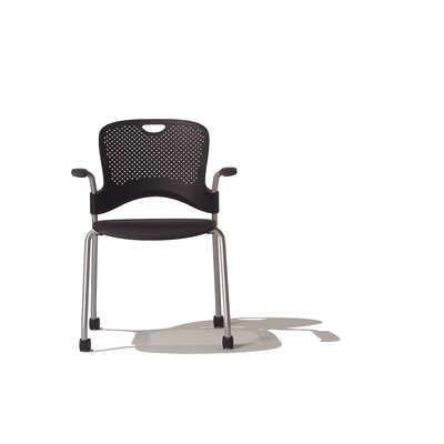 Herman Miller ® Caper Stacking Chair With FLEXNET™ Seat and Arms
