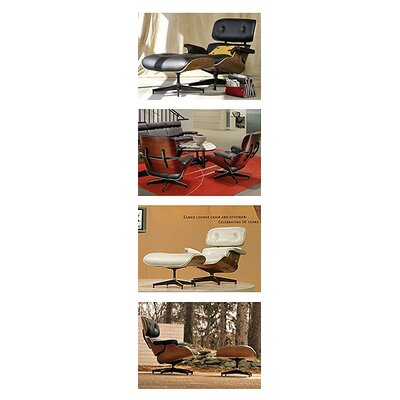 Herman Miller ® Eames Lounge Chair and Ottoman