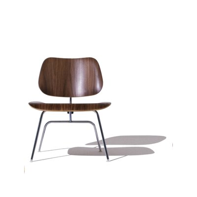 Herman Miller Eames LCM Molded Plywood Lounge Chair With Metal Legs Q