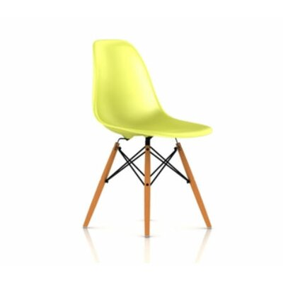 Herman Miller ® Eames DSW - Molded Plastic Side Chair with Dowel-Leg Base