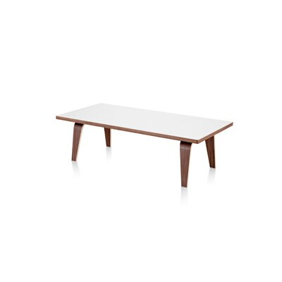 Herman Miller ® Eames Molded Plywood Coffee Table with Wood Legs