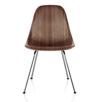 Eames Molded Wood Side Chair with 4-Leg Base