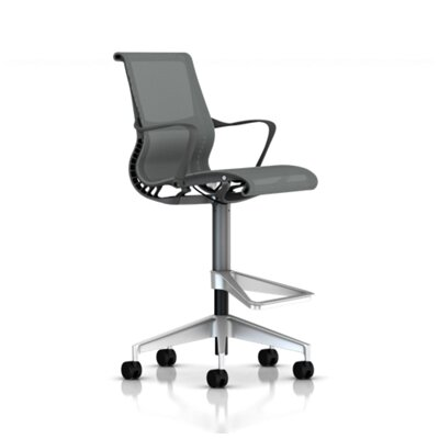 Herman Miller ® Setu Arm Stool with Casters