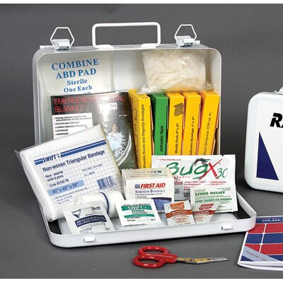 Radnor Person Vehicle First Aid Kit In Metal Case