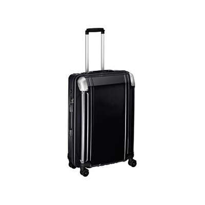 "Zero Halliburton Geo Polycarbonate 26"" 4 Wheel Spinner Travel Case"