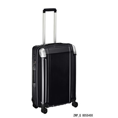 "Zero Halliburton Geo Polycarbonate 24"" 4 Wheel Spinner Travel Case"