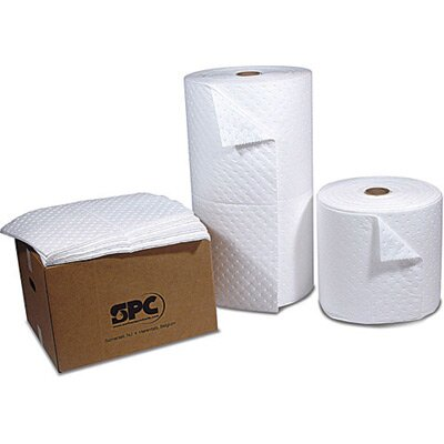 X 150' 2-Ply Top Layer Blue Bottom Layer White Roll Covers Wide Areas Perfed Every ...