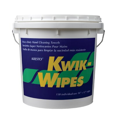 Stockhausen Kresto Kwik Wipes 130Per Bucket