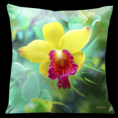 Exotic Asia Square Pillow