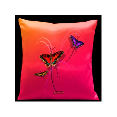 Lama Kasso Butterflies Pillow