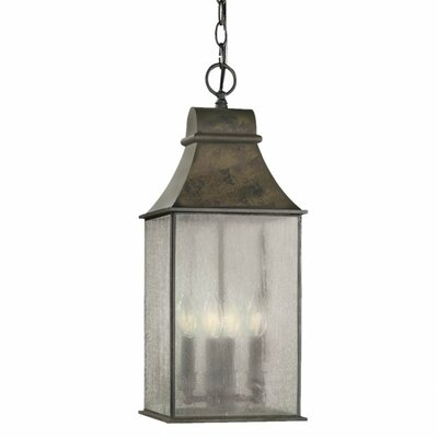 World Imports Outdoor 4 Light Hanging Lantern