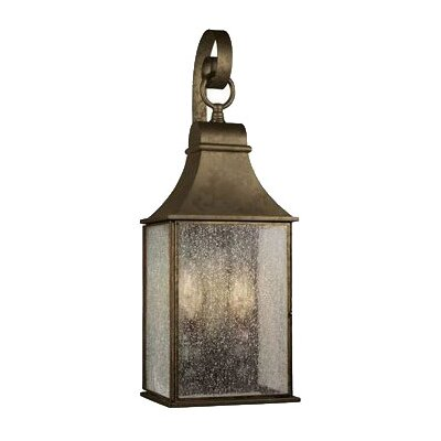 <strong>World Imports</strong> Outdoor 2 Light Hanging Wall Mount Lantern