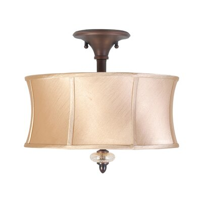 World Imports Chambord 3 Light Semi Flush Mount