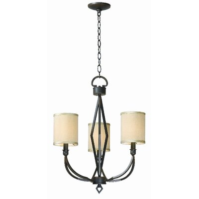 World Imports Decatur 3 Light Chandelier
