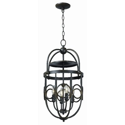 World Imports Belle Chasse 4 Light Foyer Pendant