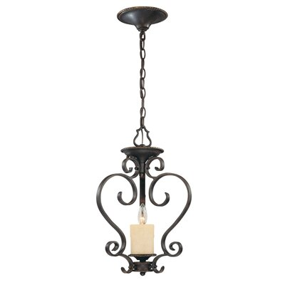 Stafford Spring 1 Light Foyer Pendant