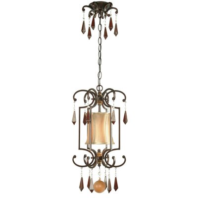 World Imports Turin 1 Light Cage Pendant