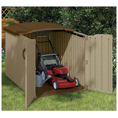 Ft. W x 6.5 Ft. D Resin Storage Shed | Wayfair