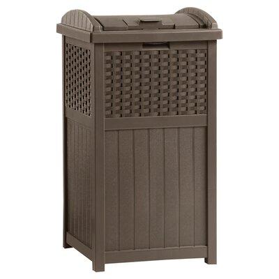 Suncast 33-Gal. Trash Hideaway Trash Receptacle