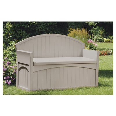 <strong>Suncast</strong> Resin Patio Storage Bench
