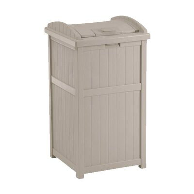 Suncast 33-Gal. Outdoor Trash Container Hideaway