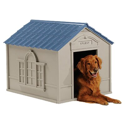 Suncast Deluxe Dog House