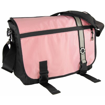 DadGear  Retro Stripe Messenger Diaper Bag