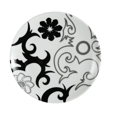 Ink Dish Tribal Lines Side Plate
