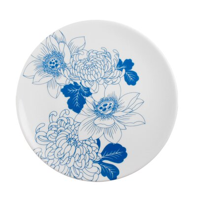 "Ink Dish Tattoo Lotus 7.75"" Side Plate"
