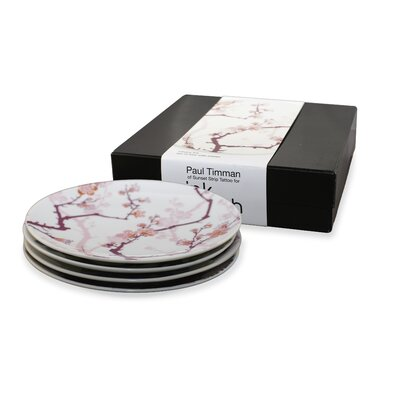 Ink Dish Cherry Ink 4 Side Plates Gift Set