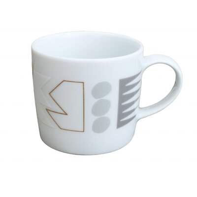 Ink Dish White Noise Mug