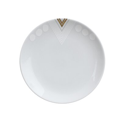 InkDish White Noise Side Plate