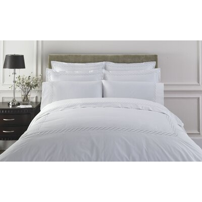 Kassatex Fine Linens Letto Studio Bedding Cable Duvet Cover Collection