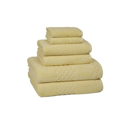Kassatex Hotelier 6 Piece Towel Set