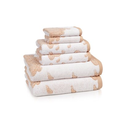 Kassatex Fine Linens Roma 6 Piece Towel Set