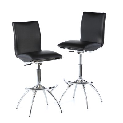 New Spec Barstool 60 Adjustable Barstool in Black