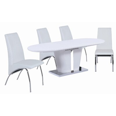 Cafe Extendable Dining Table