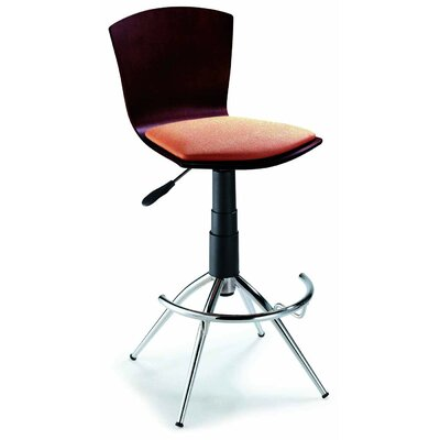 "New Spec Inc 24"" Adjustable Bar Stool"