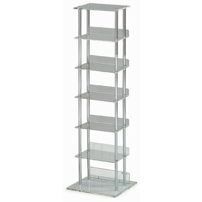 New Spec Inc 90 CD Multimedia Storage Rack