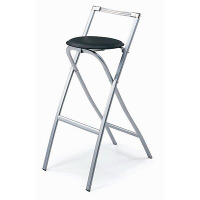 New Spec Inc Folding Stool-G29 Folding Barstool (Set of 2)