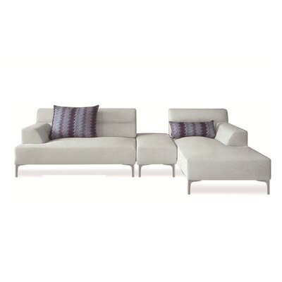 Manhantan Breezy Right Fabric Sectional