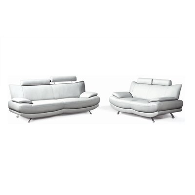New Spec Inc Zoey Sofa and Loveseat Set