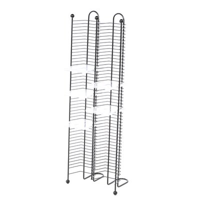 100 CD Multimedia Nestable Wire Rack