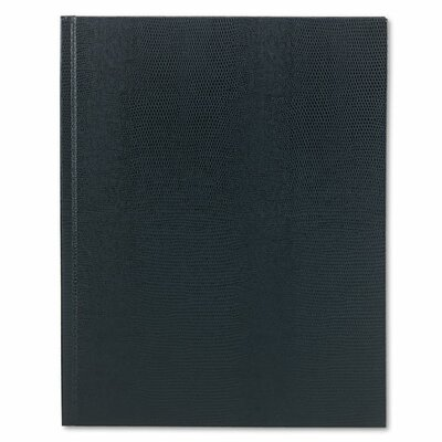 Blueline® Large Executive Notebook w/Cover, College/Margin, Letter, 75 Sheets