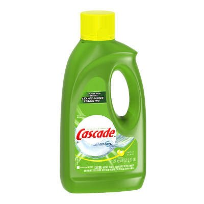 Cascade® Automatic Dishwasher Gel with Bleach