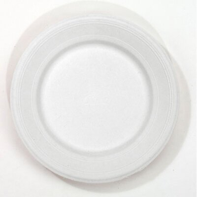 Chinet Round Classic Paper Shallow Plates in White