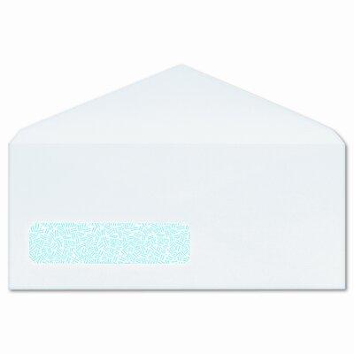 Columbian Envelope Poly-Klear Single Window Envelopes, Privacy Tint, #10, White, 500/box
